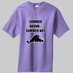 Vineyard Summer Drunk...Summer Not! T-Shirt