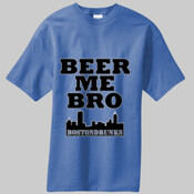Beer Me Bro BostonDrunks Skyline Series Shirt