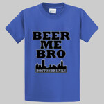 Tall Beer Me Bro BostonDrunks Skyline Series Shirt