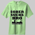 Sober Sucks Bro Skyline Series T-Shirt