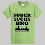 Tall Sober Sucks Bro Skyline Series T-Shirt
