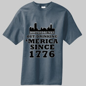 BostonDrunks Out-Drinking 'Merica Since 1776 T-Shirt