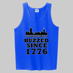 BostonDrunks Skyline Series Buzzed Since 1776 Tank