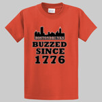 Tall BostonDrunks Skyline Series Buzzed Since 1776 T-Shirt