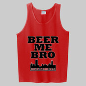 Beer Me Bro Tank Skyline Series